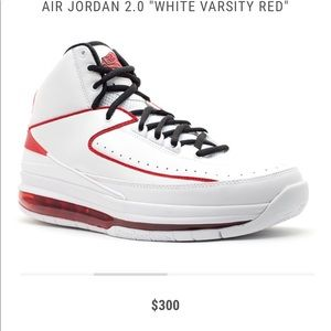Air Jordan II 2.0 Chicago 23 White Varsity Red 8